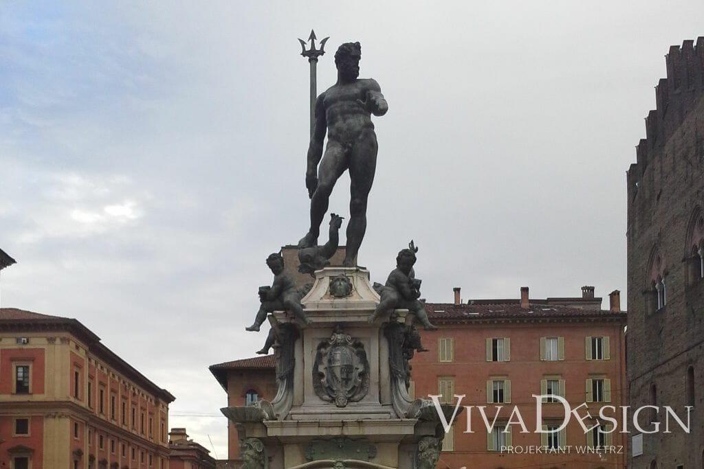 Pomnik Neptuna w Bolonii, viva design projektowanie wnętrz