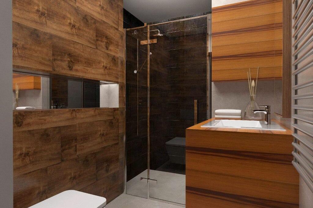 Treverk Home, Evolution Marble, Lantic colonial, mozaika, drewno łazienka rezydencja Viva Design