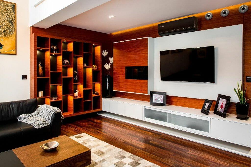 Ściana telewizyjna
