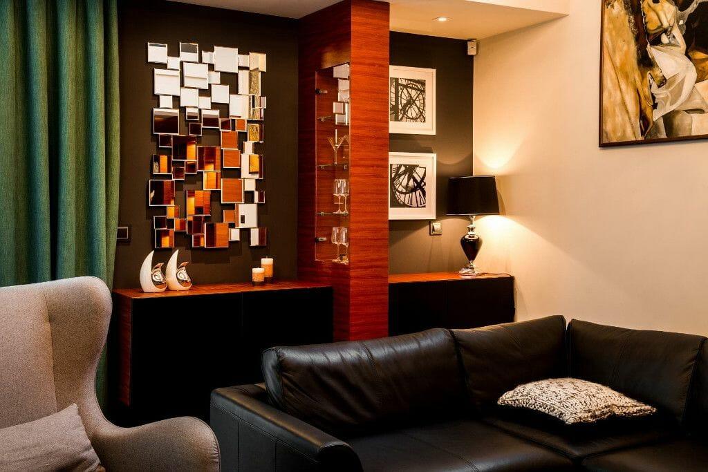 Regał z fornirowanymi frontami - wyjątkowy, oryginalny, luksusowy - Viva Design
