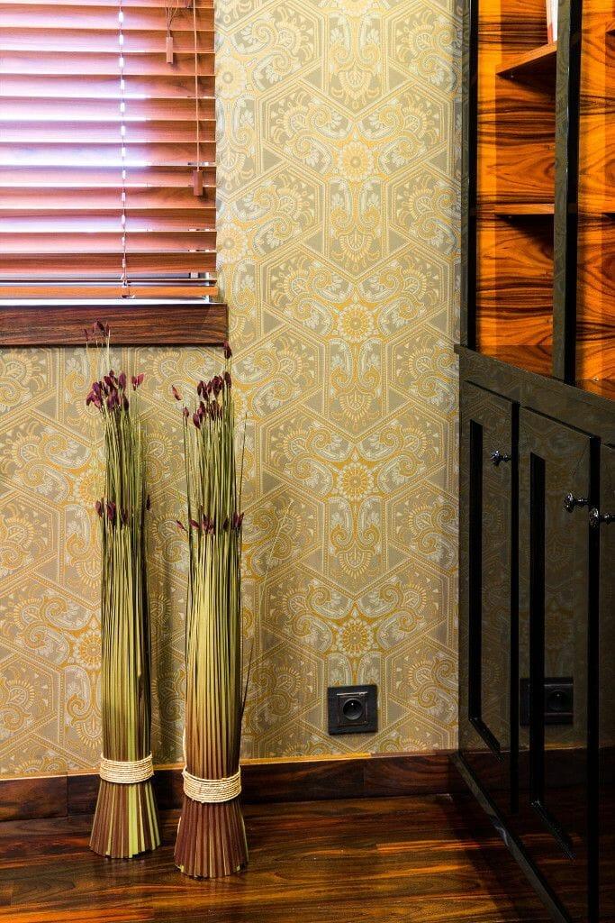 Gabinet tapeta ornamenty