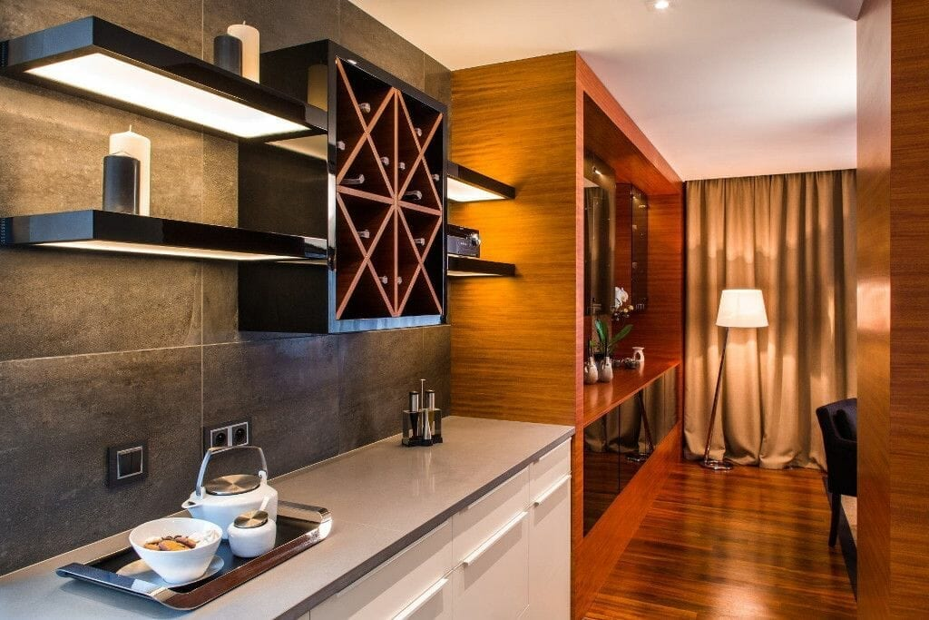 Przytulna i luksusowo urządzona kuchnia - Viva Design