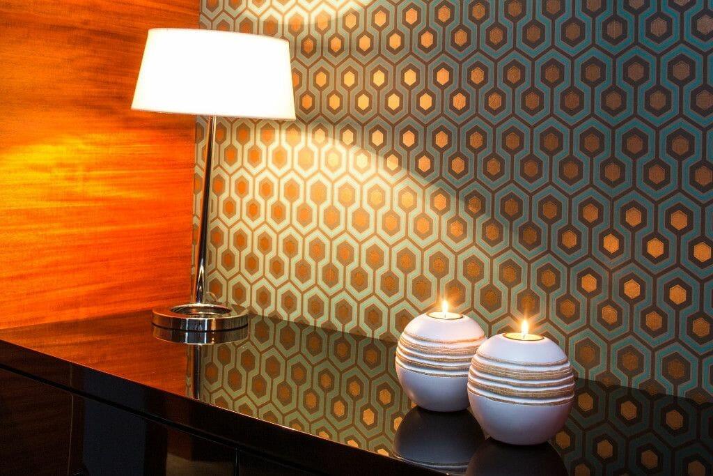 Oryginalna tapeta w korytarzu - Viva Design