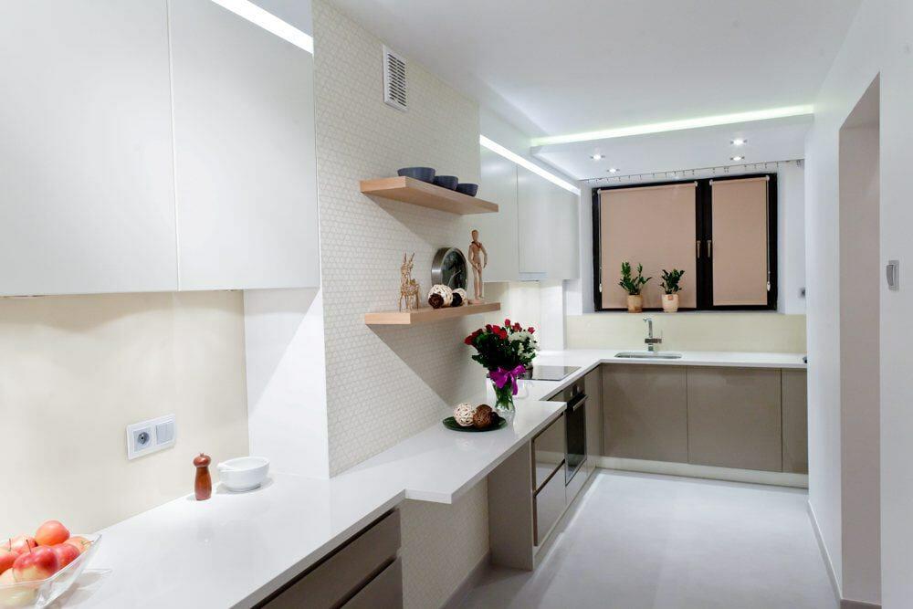 Nowoczesna, minimalistyczna kuchnia Viva Design