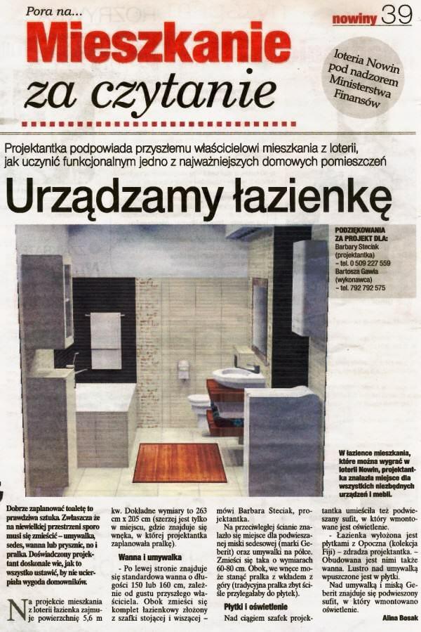 Viva Design - 2009 pierwsza publikacja w prasie