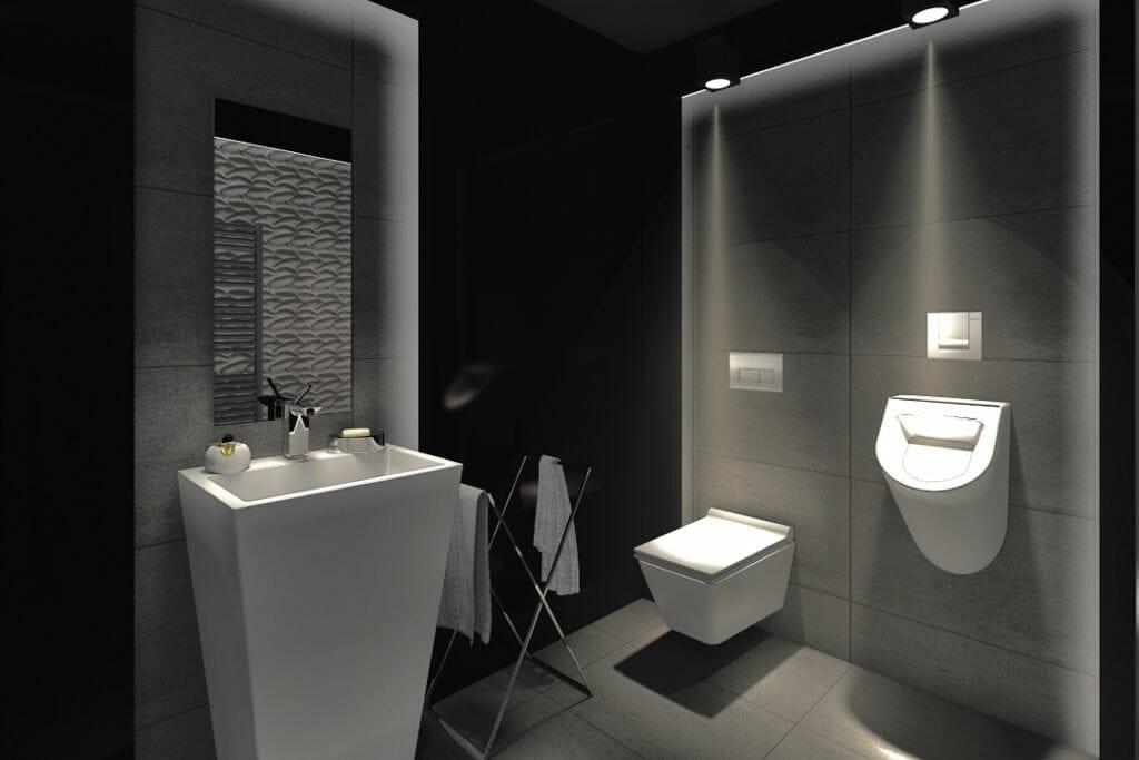 wizualizacja, łazienka, luksusowa, rzeszów, viva design, umywalka wolnostojąca, płytki z efektem 3D, Rzeszow, projekty wnetrz, architekt wnetrz, Warszawa, projektowanie wnetrz, projektowanie wnętrz