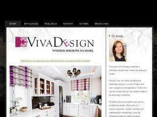 Pierwsza strona WWW firmy Viva Design