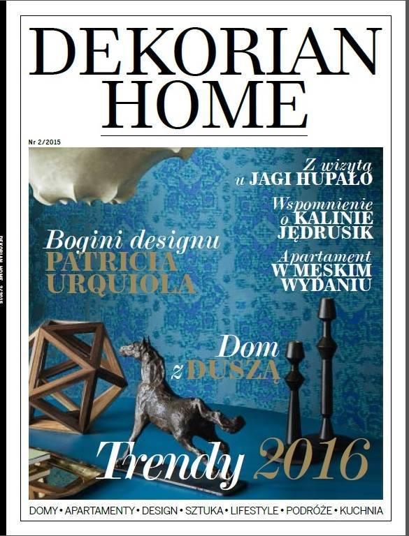 Publikacja, wyróżnienie, nagroda, Dekorian, Dekorian Home, Viva Design, okładka