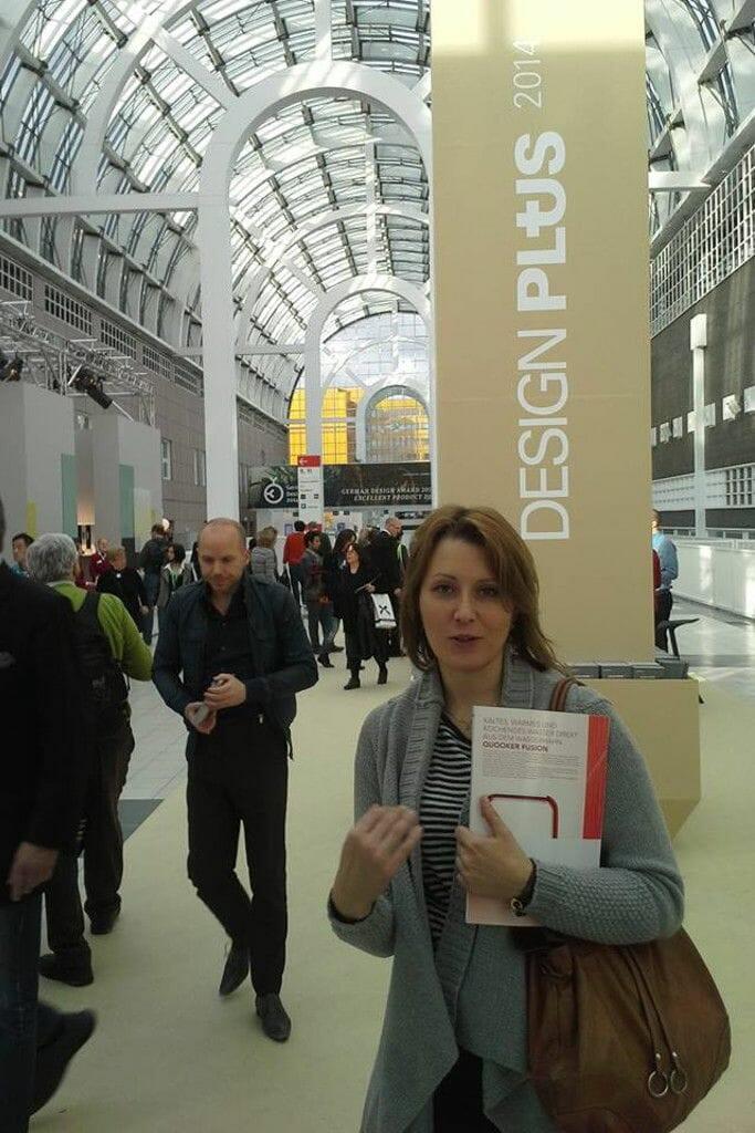 Zdjęcia - Barbara Kułak Steciak z pracowni projektowania wnętrz Viva Design z Rzeszowa na targach Ambiente we Frankfurcie - luty 2014, projekty wnętrz, architektura wnetrz, Rzeszow, architektura wnętrz, pod klucz, architekt wnętrz