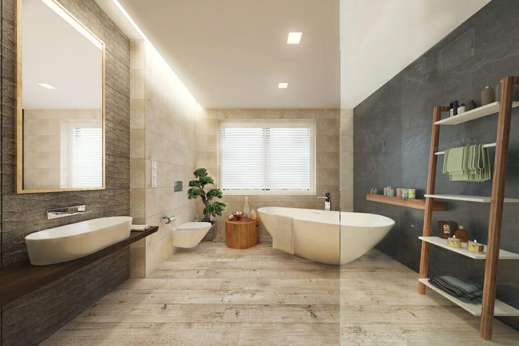 8 łazienka 1 Poprawka Viva Design Projektowanie Wnętrz