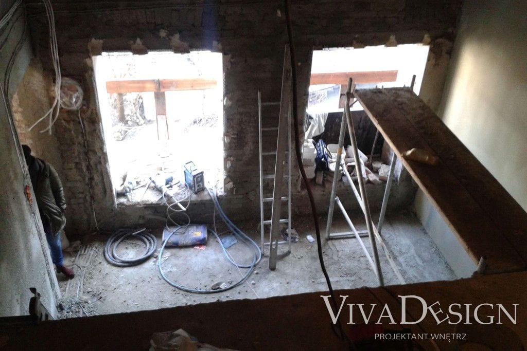 Apartament pod klucz w Krakowie - zdjęcia zrobione na początku prac nad projektem - Viva Design