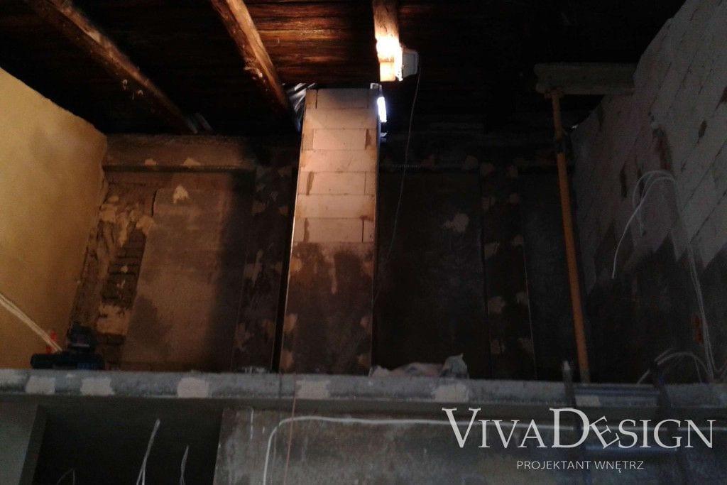 Apartament pod klucz w Krakowie - zdjęcia zrobione na początku prac nad projektem - Viva Design, projektant wnetrz, pod klucz, projektowanie wnętrz, viva design, projekty wnętrz, architektura wnetrz