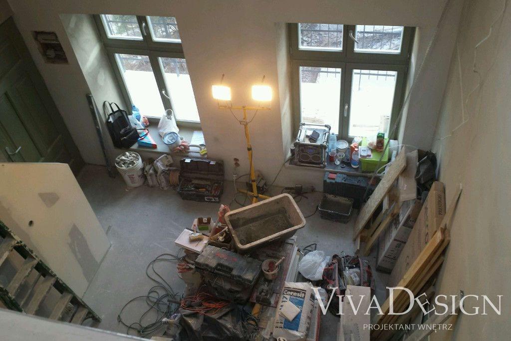 Apartament pod klucz w Krakowie - zdjęcia zrobione podczas prac wykończeniowych - Viva Design, projektowanie wnetrz, pod klucz, viva design, projekty wnętrz, projektowanie wnętrz, Rzeszow