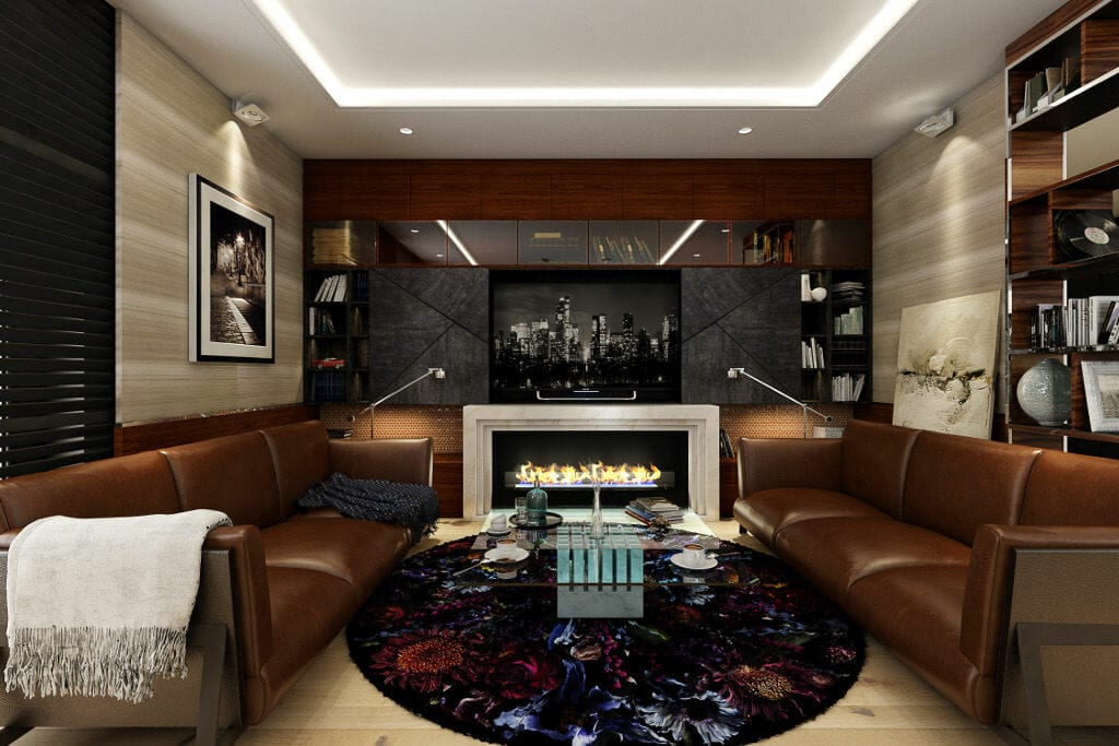 Salon - Wizualizacja luksusowego salonu apartament w Warszawie, Praga, projekt wnętrz wraz z wizualizacjami, projektami dla wykonawców, zestawieniem materiałów a także nadzorem autorskim realizowała pracownia projektowania wnętrz Viva Design, architektura wnętrz, projektowanie wnętrz, architektura wnetrz, viva design, Rzeszow, projektowanie wnetrz