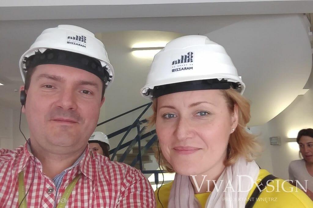 Barbara Kułak-Steciak i Marcin Steciak - Viva Design w fabryce Marazzi