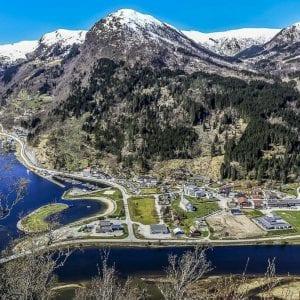 Widok na miejscowość klienta Viva Design - projektowanie wnętrz - Norwegia, Norway, Nautsdal