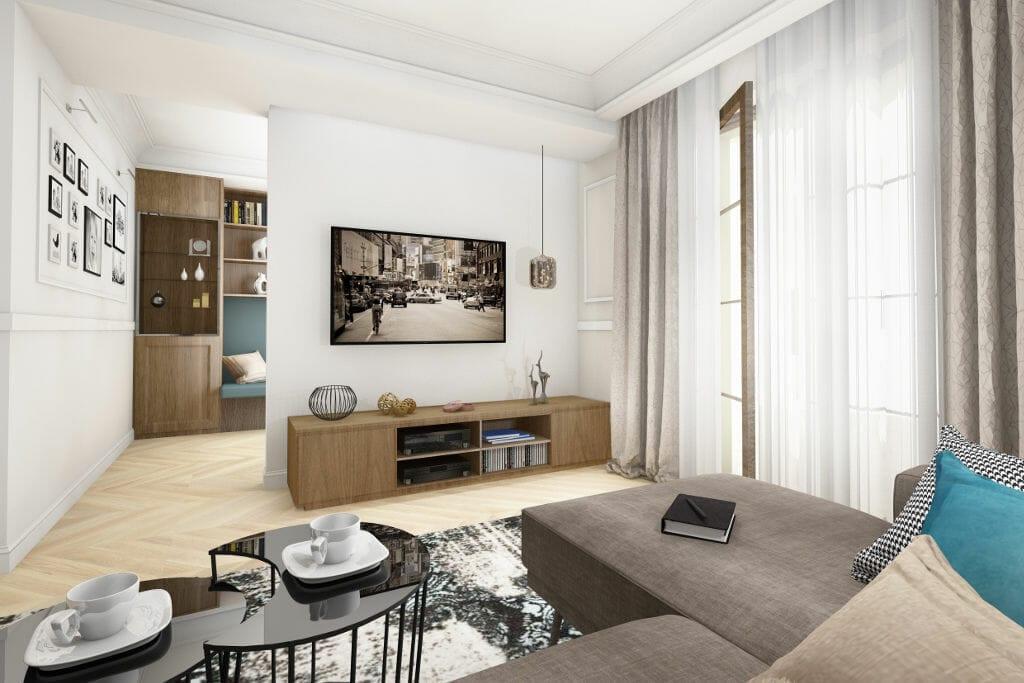 Eklektyczny, architektura wnetrz, architektura wnętrz, interior design, projektant wnetrz, projekty wnetrz, pod klucz