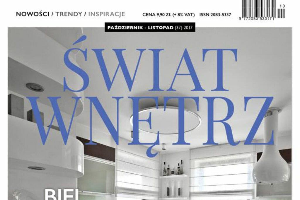 Świat wnętrz, viva design, artykuł, bursztynowy apartament