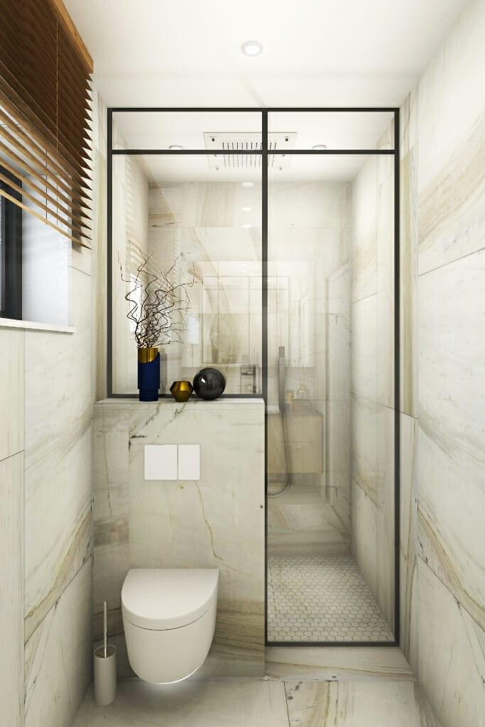 łazienka, bathroom, wizualizacja, Norwegia, norway, visualization, Viva design, projektant, wnętrz, architekt, rzeszów, kraków, Warszawa, gdańsk