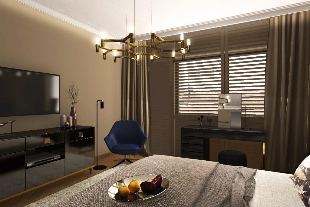 Sypialnia 1 Viva Design Projektowanie Wnętrz