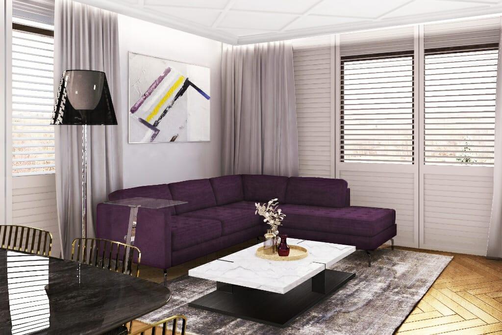 Wizualizacja sypialni, projekty wnetrz, Rzeszów, projekty wnętrz, projektowanie wnetrz