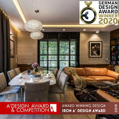 Pracownia Projektowania wnętrz Viva Design z Rzeszowa otrzymała prestiżową, międzynarodową nagrodę A`Design Award