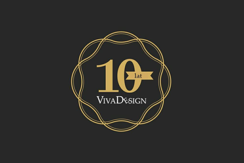 Dziesiąta rocznica powstania pracowni projektowania wnętrz Viva Design