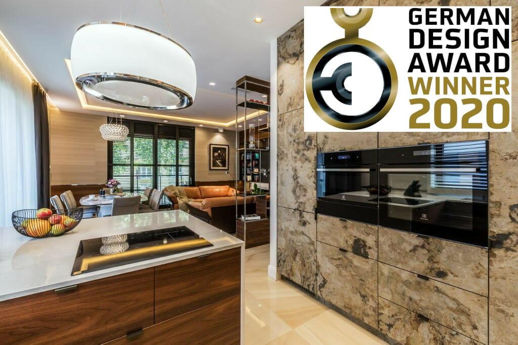 Prestiżowa, międzynarodowa nagroda German Design Award 2020 dla pracowni projektowania wnętrz Viva Design z Rzeszowa za projekt luksusowego apartamentu w Warszawie