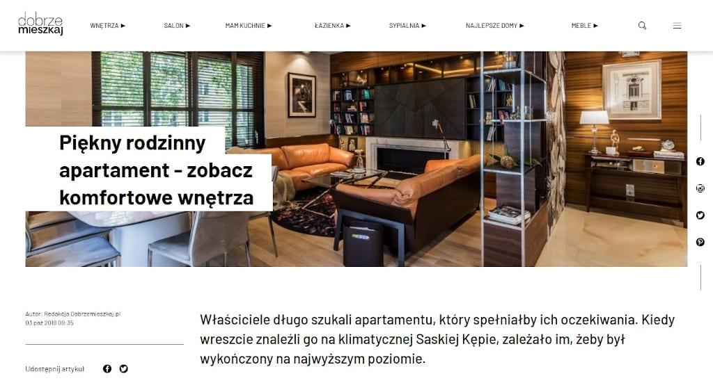 Dobrze mieszkaj - publikacje Viva Design