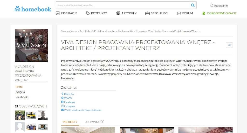 Homebook - publikacje Viva Design